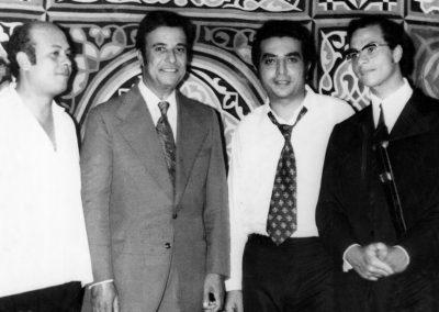 كارم محمود واخي محمد ومحمد غنيم