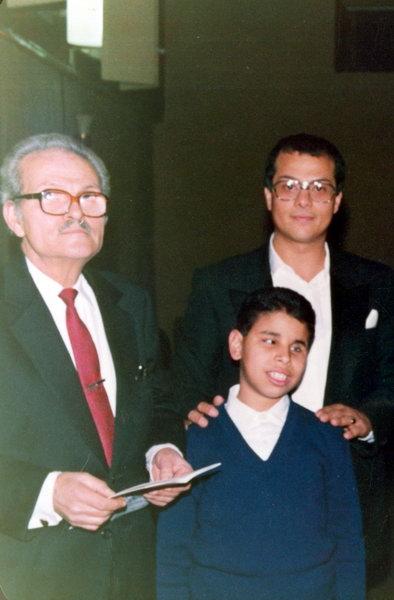 طاهر مصطفى، حسين الجنيدي