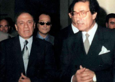 فاروق حسني و سمير فرج